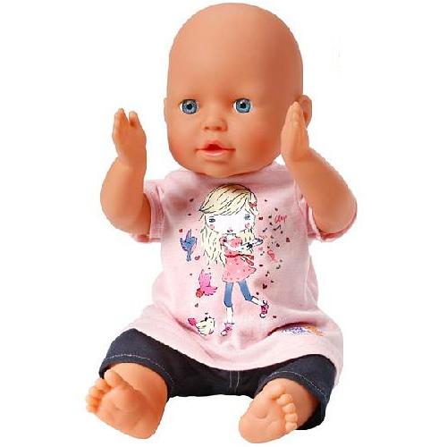 Zapf Creation Baby born 813-911_1 Бэби Борн Кукла Хлопаем в ладоши, 40 см