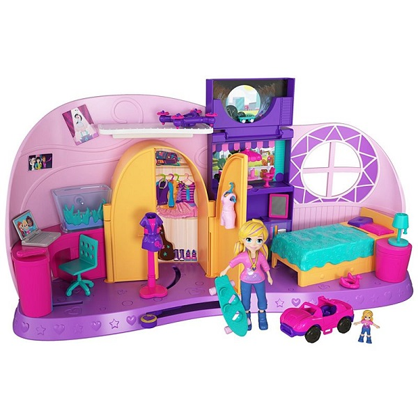 Mattel Polly Pocket FRY98 Комната Полли mattel polly pocket ftp67 маленькие куклы в ассортименте