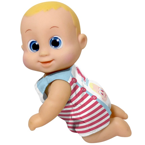 Bouncin' Babies 802002 Кукла Баниэль ползущая, 16 см
