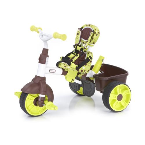 """Little Tikes 630132 Литл Тайкс Велосипед """"4 в 1"""" коричнево-зеленый"""