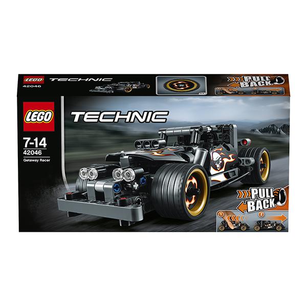 Лего Техник 42046 Конструктор Гоночный автомобиль для побега