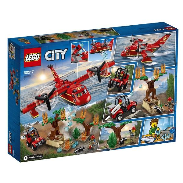 LEGO City 60217 Конструктор ЛЕГО Город Пожарные: Пожарный самолёт