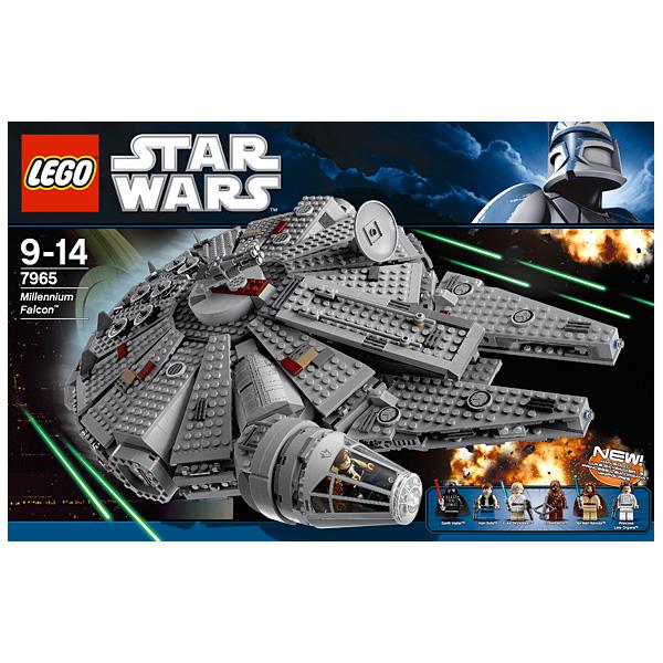 Конструктор Lego Star Wars 7965 Лего Звездные Войны Сокол Тысячелетия