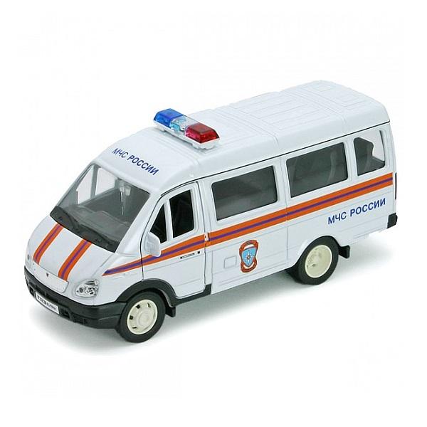 Welly 42387ARE Велли Модель машины 1:34-39 ГАЗель МЧС welly 42387b велли модель машины 1 34 39 газель фургон с окном