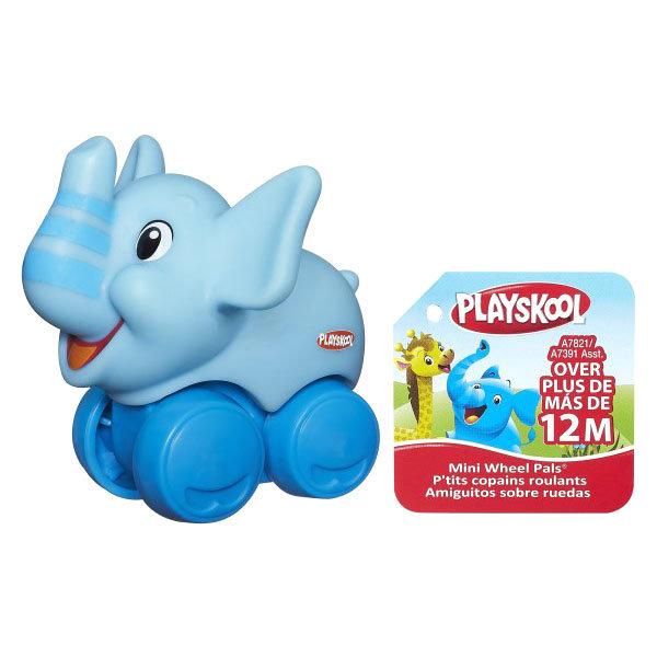 Hasbro Playskool A7391 Возьми с собой Веселые мини-животные (в ассортименте) каталки hasbro каталка веселые мини животные