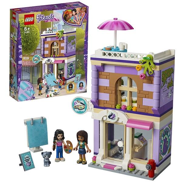 LEGO Friends 41365 Конструктор Лего Подружки Художественная студия Эммы цена