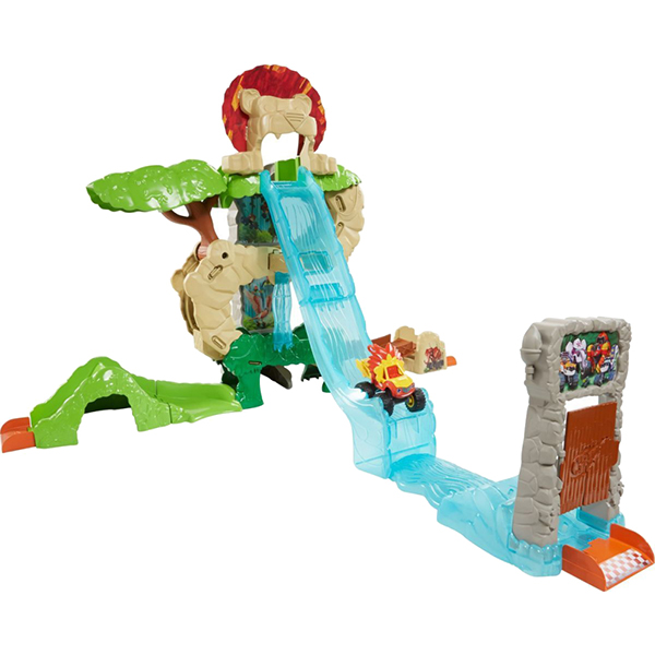 """Mattel Blaze DYN42 Вспыш Игровой набор """"Энимал Айлэнд"""""""