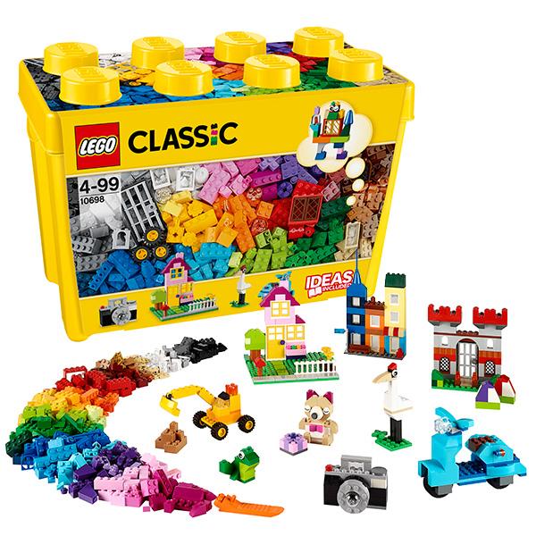 LEGO Classic 10698 Конструктор ЛЕГО Классик Набор для творчества большого размера цена в Москве и Питере