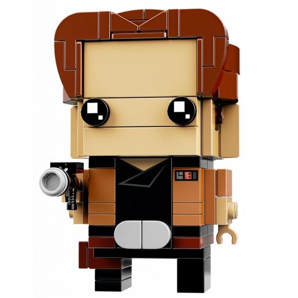 LEGO BrickHeadz 41608 Конструктор ЛЕГО БрикХедз Хан Соло