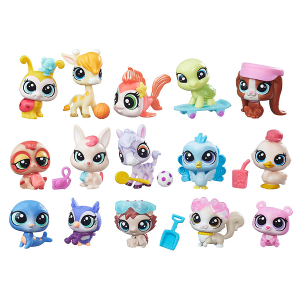 Hasbro Littlest Pet Shop B6625 Литлс Пет Шоп Набор зверюшек - малышей dhl ems 2 sets new for omron photoelectric switch e2em x4x2
