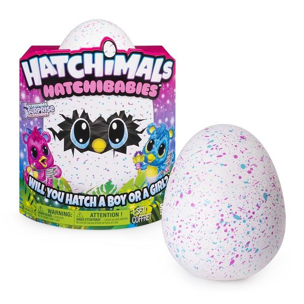 Hatchimals 19133-CHE Хетчималс Hatchy-малыш интерактивный питомец,  вылупляющийся из яйца ... 0fe7fd3860a