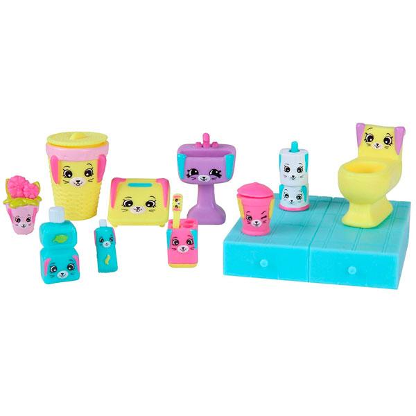 Happy Places 56380 Игровой набор для декора Кролики для ванной happy places 56193 посылка сюрприз
