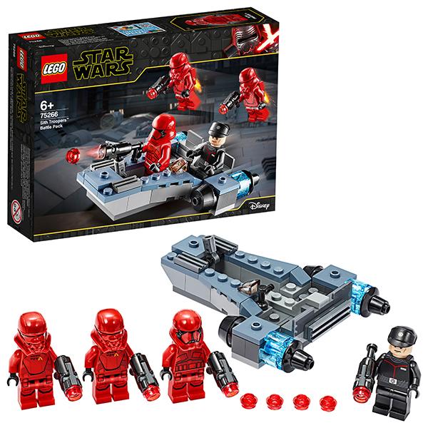 LEGO Star Wars 75266 Конструктор ЛЕГО Звездные войны Боевой набор: штурмовики ситхов конструктор lego star wars 75133 боевой набор повстанцев