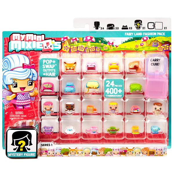 Mattel My Mini Mixi Q's DXD65 Набор из четырех фигурок