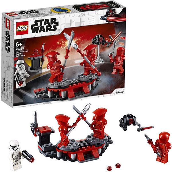 LEGO Star Wars 75225 Конструктор Лего Звездные войны Боевой набор Элитной преторианской гвардии конструктор lego боевой набор галактической империи лего звездные войны