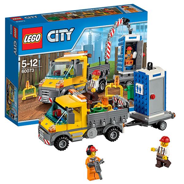 LEGO City 60073 Конструктор ЛЕГО Город Машина техобслуживания