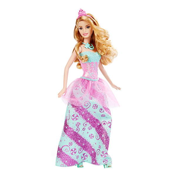 Mattel Barbie DHM54 Барби Кукла-принцесса mattel barbie dhm56 барби кукла принцесса rainbow fashion