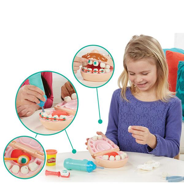 Hasbro Play-Doh B5520 Игровой набор Мистер Зубастик Новая версия