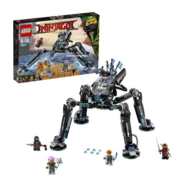 Lego Ninjago 70611 Конструктор Лего Ниндзяго Водяной Робот конструктор sy ninja movie водяной робот 748 дет sy928