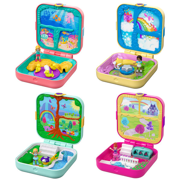 Mattel Polly Pocket GDK76 Мини-мир (в ассортименте) mattel polly pocket ftp67 маленькие куклы в ассортименте