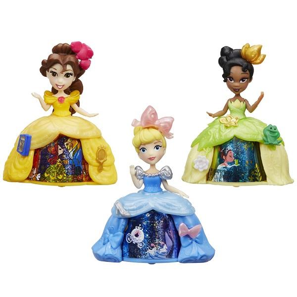 Hasbro Disney Princess B8962 Маленькая кукла с волшебной юбкой (в ассортименте) мини кукла тиана в платье с волшебной юбкой disney princess b8962 page 5
