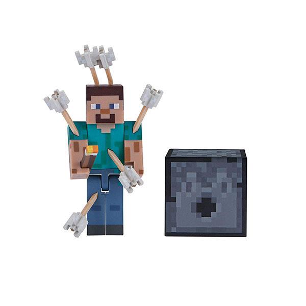 цена на Minecraft 19971 Майнкрафт фигурка Steve with Arrows