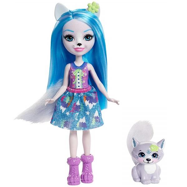 Mattel Enchantimals FRH40 Кукла с питомцем - Волчица Винсли mattel enchantimals frh40 кукла с питомцем волчица винсли