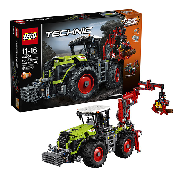 Lego Technic 42054_9 Лего Техник CLAAS XERION 5000 TRAC VC