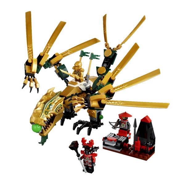 Lego Ninjago 70503 Конструктор Лего Ниндзяго Золотой дракон