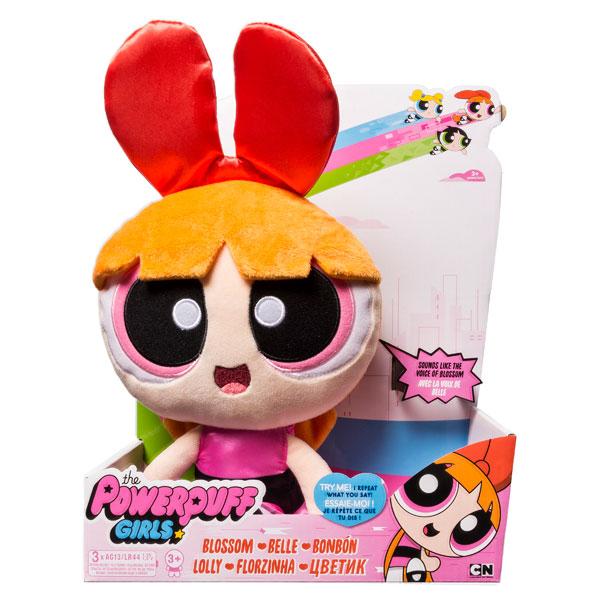 Powerpuff Girls 22305 Плюшевая кукла 30 см, повторяет ваши слова (в ассортименте)