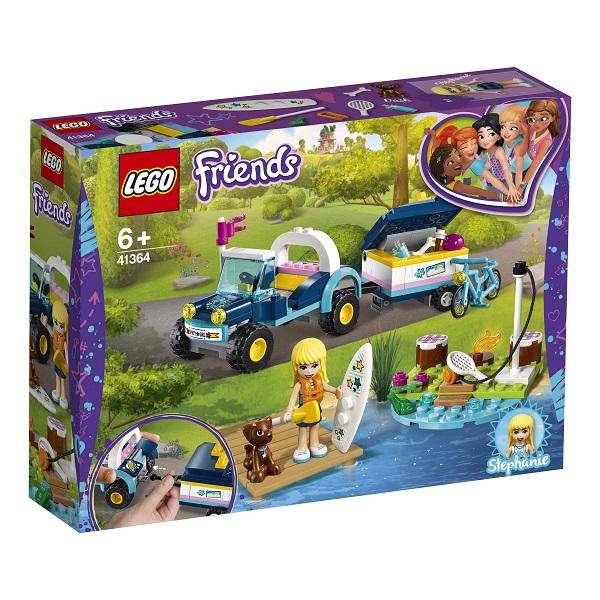 LEGO Friends 41364 Конструктор ЛЕГО Подружки Багги с прицепом Стефани