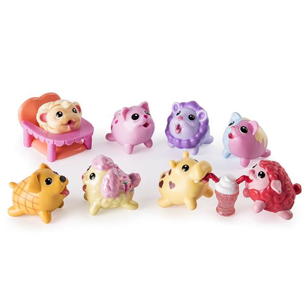 Chubby Puppies 56735-o Упитанные собачки Игровой набор из 10 предметов