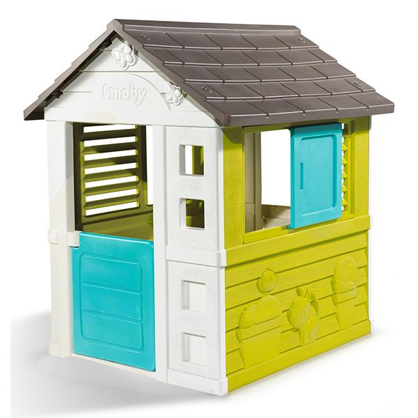 Smoby 310064 Игровой детский домик со звонком цена