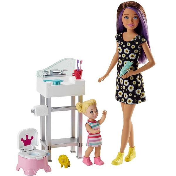 Mattel Barbie FJB01 Барби Набор Няня mattel barbie dpk90 барби набор фигурок персонажей