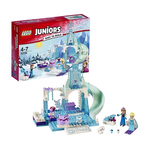Lego Juniors 10736 Лего Джуниорс Игровая площадка Эльзы и Анны lego juniors 10739 лего джуниорс ниндзяго нападение акулы