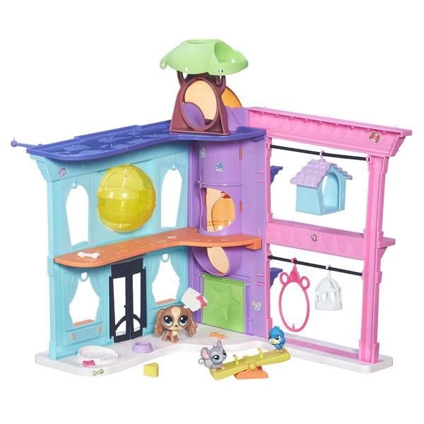 Hasbro Littlest Pet Shop B5478 Литлс Пет Шоп Игровой набор Зоомагазин hasbro play doh игровой набор из 3 цветов цвета в ассортименте с 2 лет