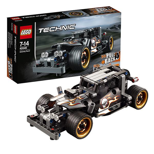 Lego Technic 42046 Лего Техник Гоночный автомобиль для побега lego technic конструктор гоночный автомобиль для побега