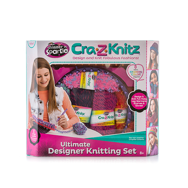 Cra-Z-Knitz 17568 Крейзи Нитс Вязальная станция средняя