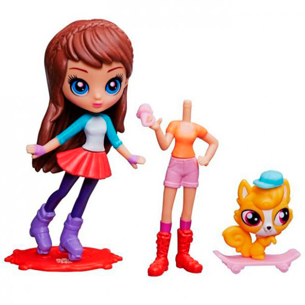 Hasbro Littlest Pet Shop A8227 Литлс Пет Шоп Модница Блайс и зверюшка (в ассортименте)
