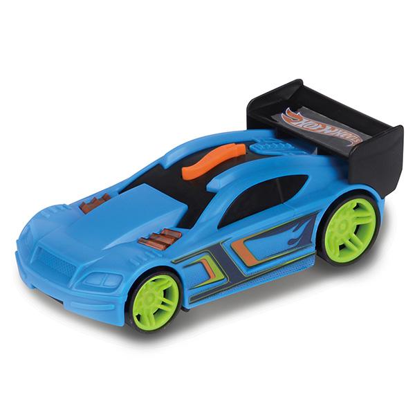 Hot Wheels HW91601 Машинка Хот вилс на батарейках свет+звук, голубая 13 см hot wheels игрушечные модели автомобилей 1 шт