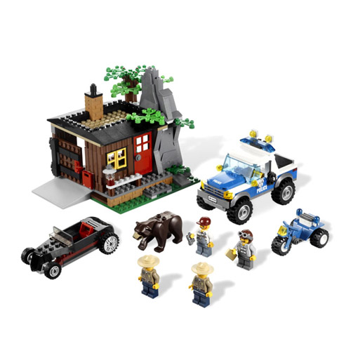 Lego City 4438 Конструктор Лего Город Укрытие Преступника