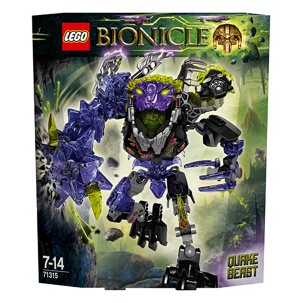 Lego Bionicle 71315 Конструктор Лего Бионикл Монстр Землетрясений