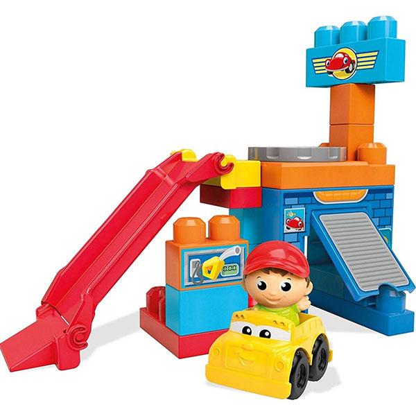 """все цены на Mattel Mega Bloks DKX85 Мега Блокс Игровой набор - конструктор """"Веселые качели"""" онлайн"""