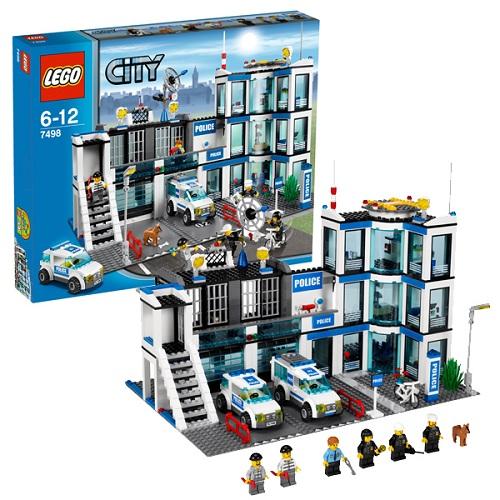 Lego City 7498 Конструктор Лего Город Полицейский участок
