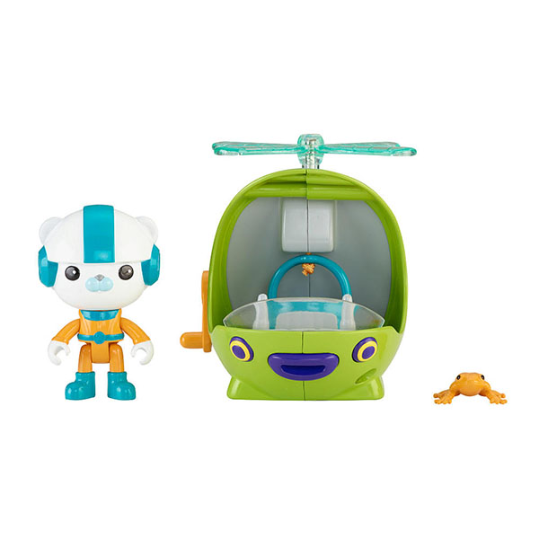 Mattel Octonauts T7017 Октонавты Подводный транспорт + фигурка в ассортименте