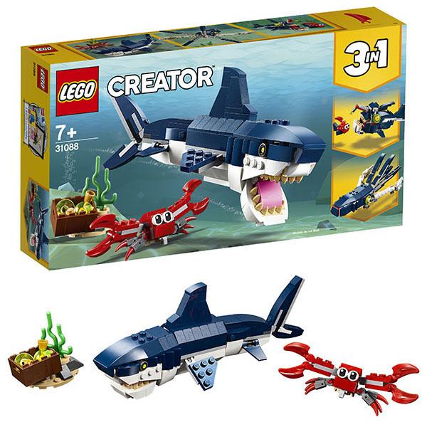 Lego Creator 31088 Конструктор Обитатели морских глубин