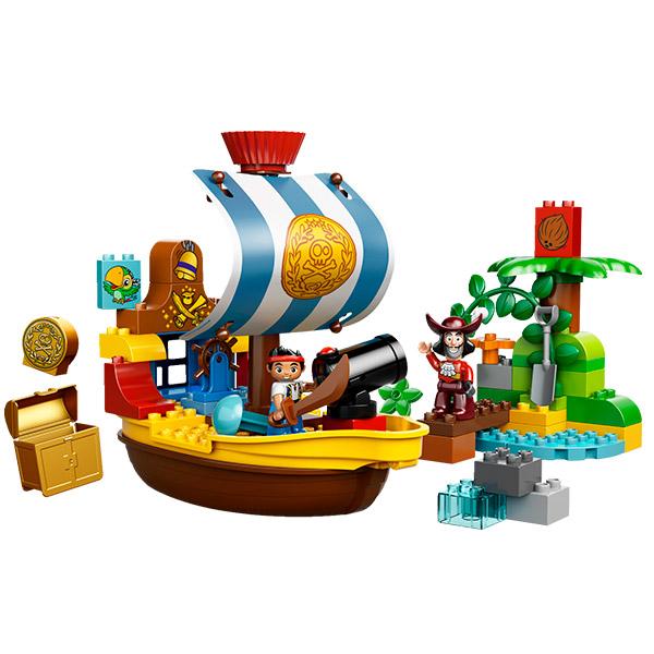 Лего Дупло 10514 Конструктор Пиратский корабль Джейка