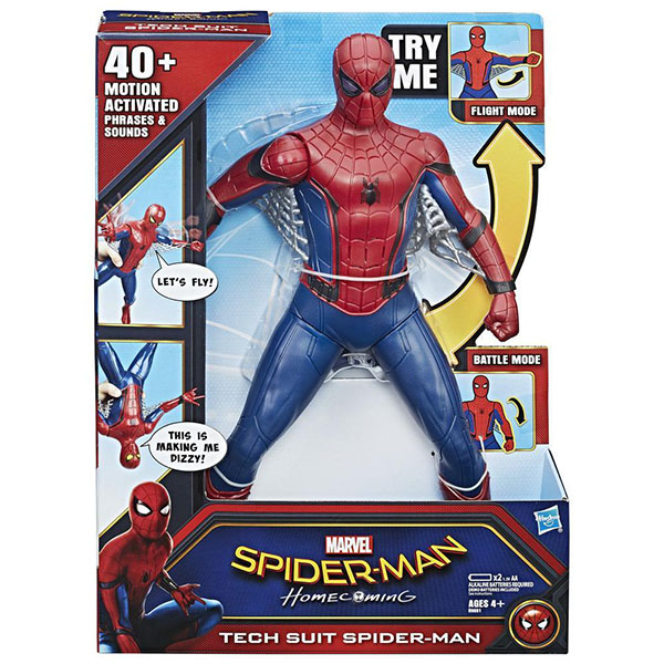 Hasbro Spider-Man B9691 Фигурка Человека-паука со световыми и звуковыми эффектами