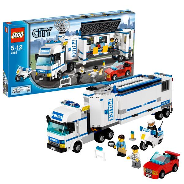 Lego City 7288 Конструктор Лего Город Выездная полиция
