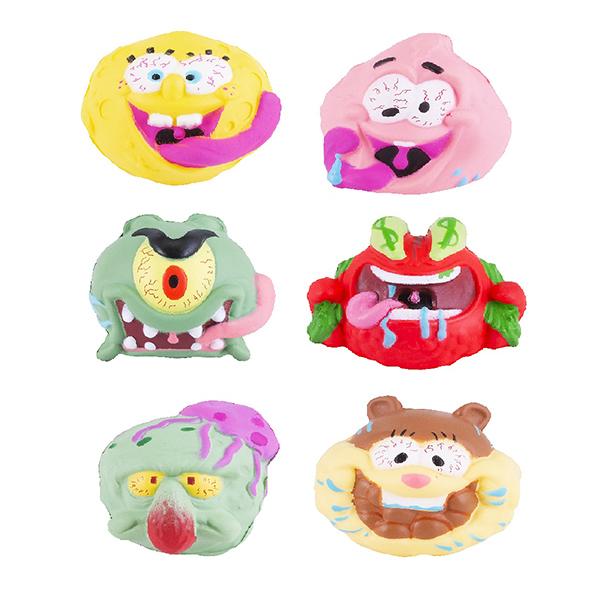 Фото - SpongeBob EU690100 Мяч-антистресс 5 см (в ассортименте) полесье набор игрушек для песочницы 468 цвет в ассортименте